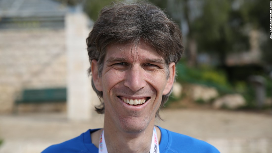 Six months after the 2014 Israel-Gaza conflict, Israel Haas (pictured) launched Runners Without Borders -- a group dedicated to improving the relationship between Israelis and Palestinians.