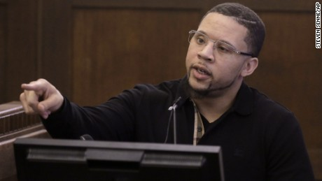 Alexander Bradley is the prosecution's star witness in Hernandez's trial.