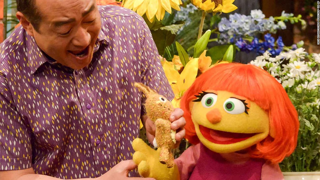 "Julia, a new autistic muppet character, will join the cast of ""Sesame Street"" in April. The character was first introduced during the new <a href=""http://autism.sesamestreet.org/index.html"" target=""_blank"">Sesame Street and Autism: See Amazing in All Children</a>."