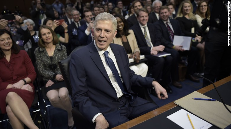 Neil Gorsuch faces Senate Judiciary Committee