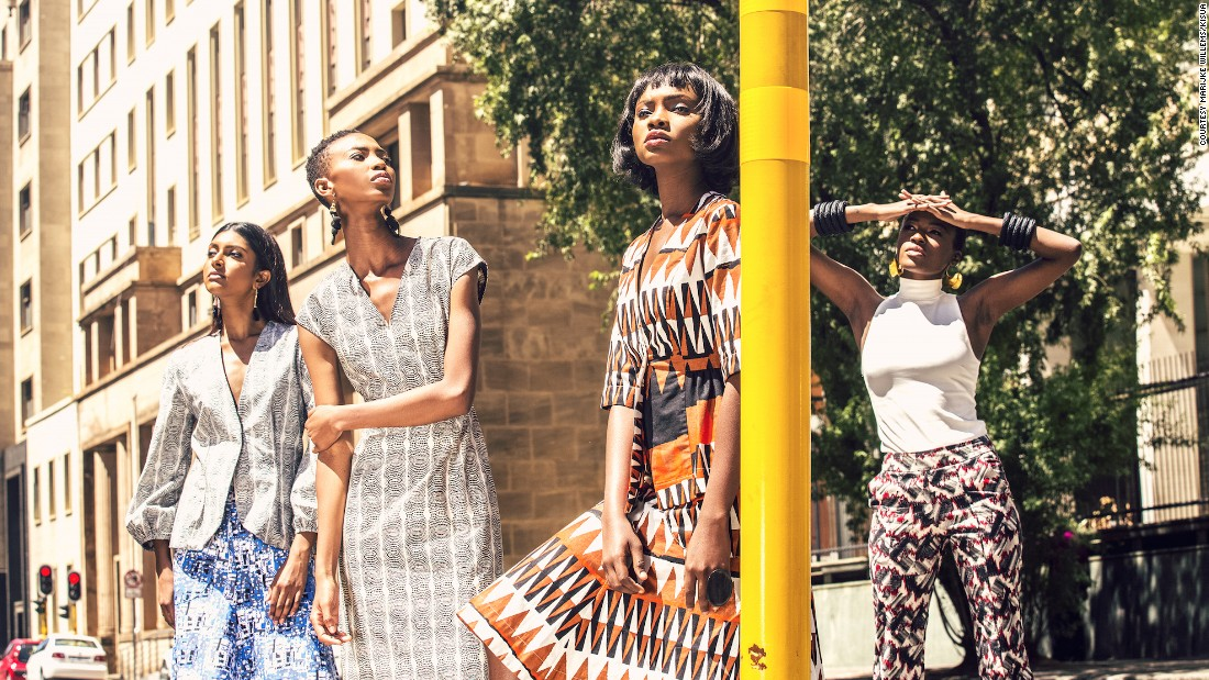 """Because of infrastructural challenges couriering on the continent can be quite expensive so it is sometimes discouraging for a customer in Nigeria or Ghana to buy from an online store in South Africa and vice versa just because of the cost of shipping,"" says Mensah. <br /><br />Pictured: KISUA Spring/Summer 17 collection on YOOX as part of the online retailer's YOOXYGEN ethical fashion program."