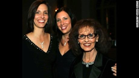 Giana Mucci, center, and her sister, Michelle Page, with their late mother, Sheryl Mucci.
