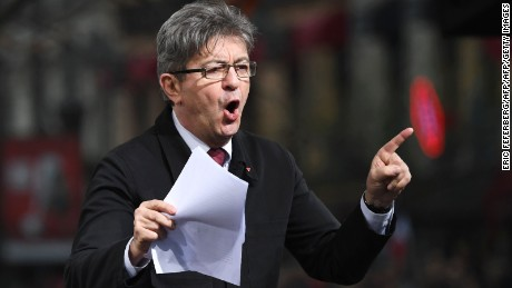 Jean-Luc Melenchon is a seasoned debater.