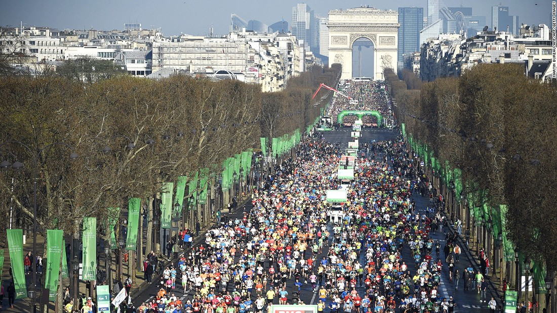 <strong>Run, walk, listen: </strong>A roster of international events -- including the Paris Marathon, which takes place in April -- help the city to shake off its winter torpor.