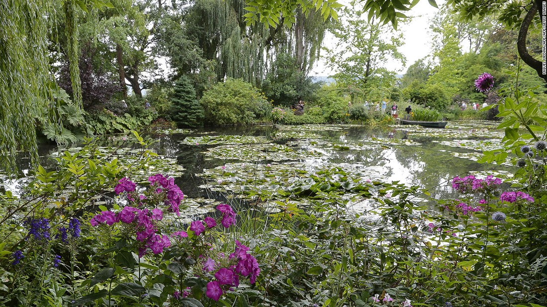 "<strong>Get out of town:</strong> Spring is arguably the best time to visit French impressionist painter Claude Monet's home in Giverny, northwestern France. It opens at the end of March and features the Japanese garden that inspired the Impressionist painter's ""Water Lilies"" series."