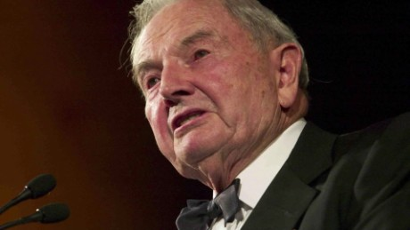 Banker and philanthropist David Rockefeller dies at 101_00000000