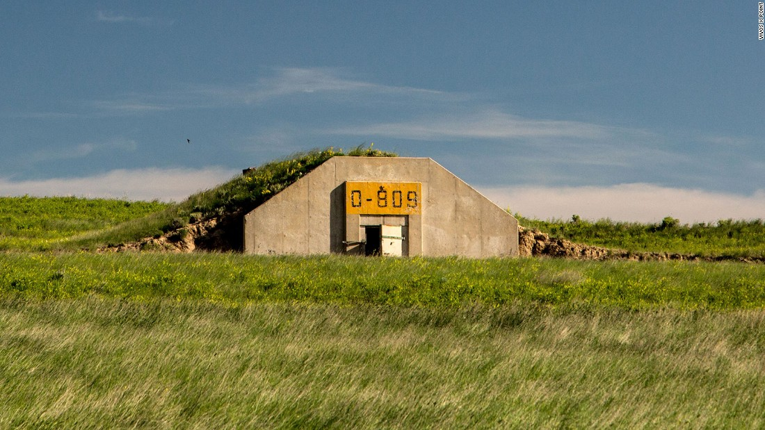 The Vivos xPoint bunkers are located in South Dakota, They are currently being converted to accommodate about 5,000 people.