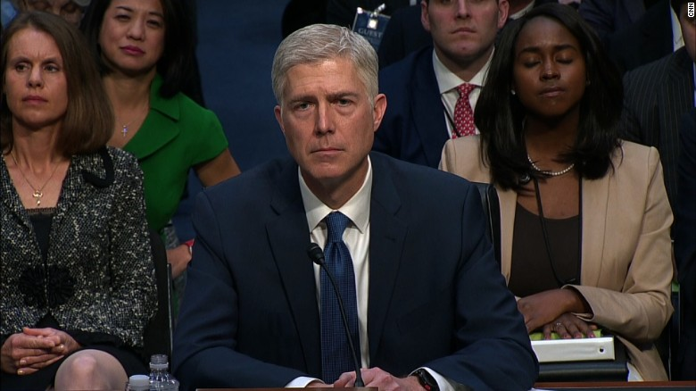 Gorsuch confirmation hearing begins