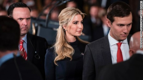 Ivanka Trump and Jared Kushner's ever-growing spheres of influence