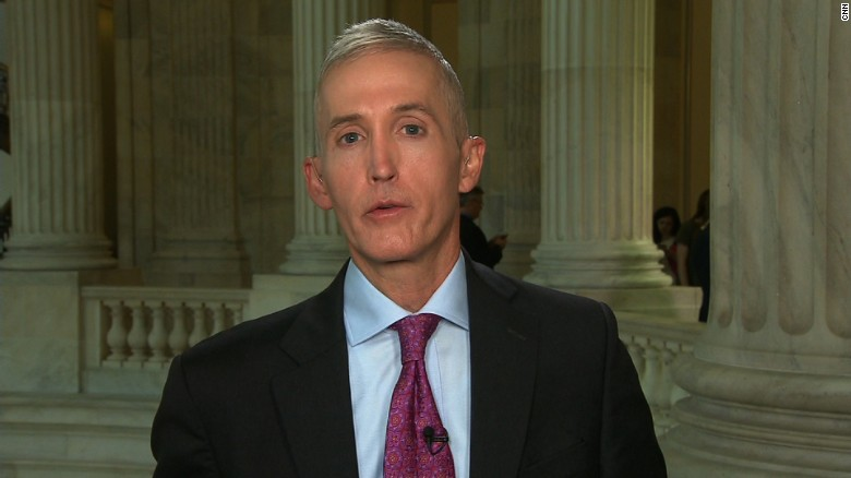 Rep. Trey Gowdy to Chair House Oversight Committee