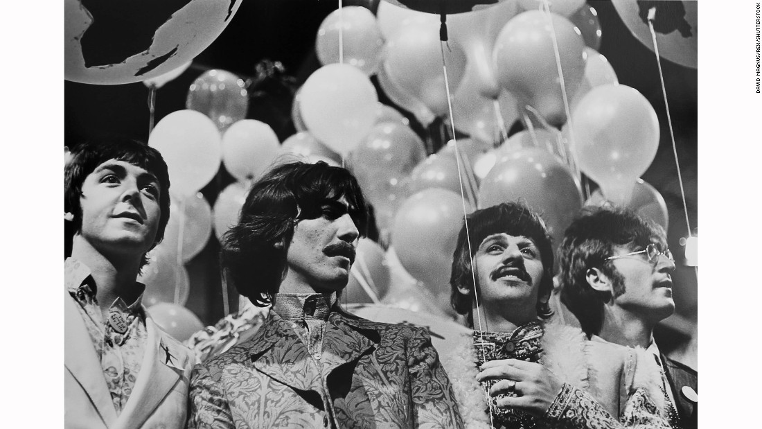 "It was the weekend they recorded ""All You Need is Love"" for the BBC's ""Our World,"" the world's first live, international satellite production."