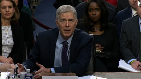 Neil Gorsuch confirmation hearing 3