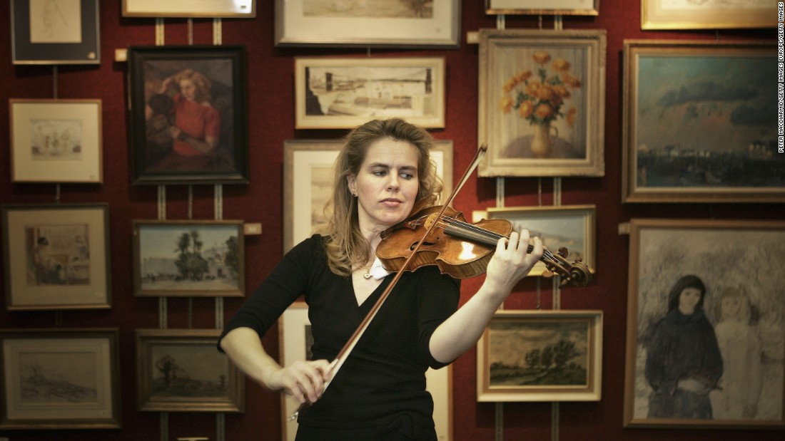 This 1707 violin by Stradivari was auctioned for $3.5 million in a 2006 Christie's sale in London, surpassing the upper estimate price of $2.5 million.