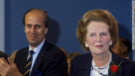 Norman Tebbit and former Prime Minister Margaret Thatcher were both in the hotel when it was bombed by the IRA in 1984.