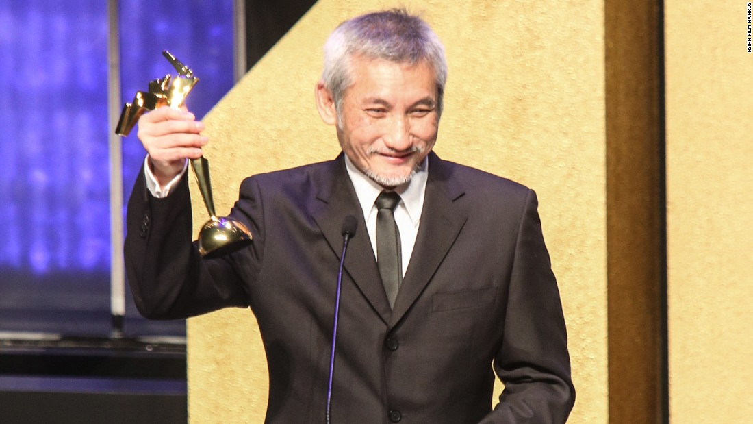 Hong Kong filmmaker Tsui Hark won the Lifetime Achievement Award.