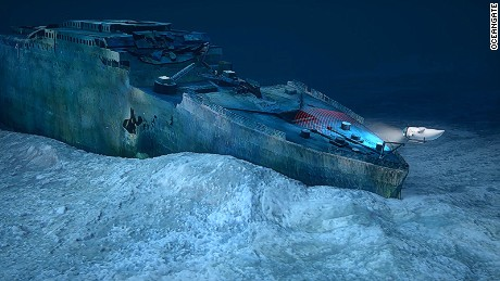 Blue Marble Private Dive the Titanic