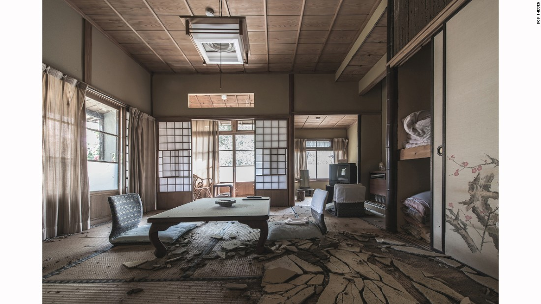 "Cultural taboo also plays an important role in well-preserved ruins. ""Japanese people believe that there are ghosts or spirits staying around abandoned buildings and stay away from them,"" says the photographer, adding that he has never encountered any paranormal activities."