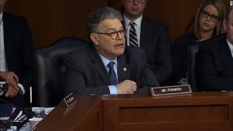 Franken grills Gorsuch on trucking case