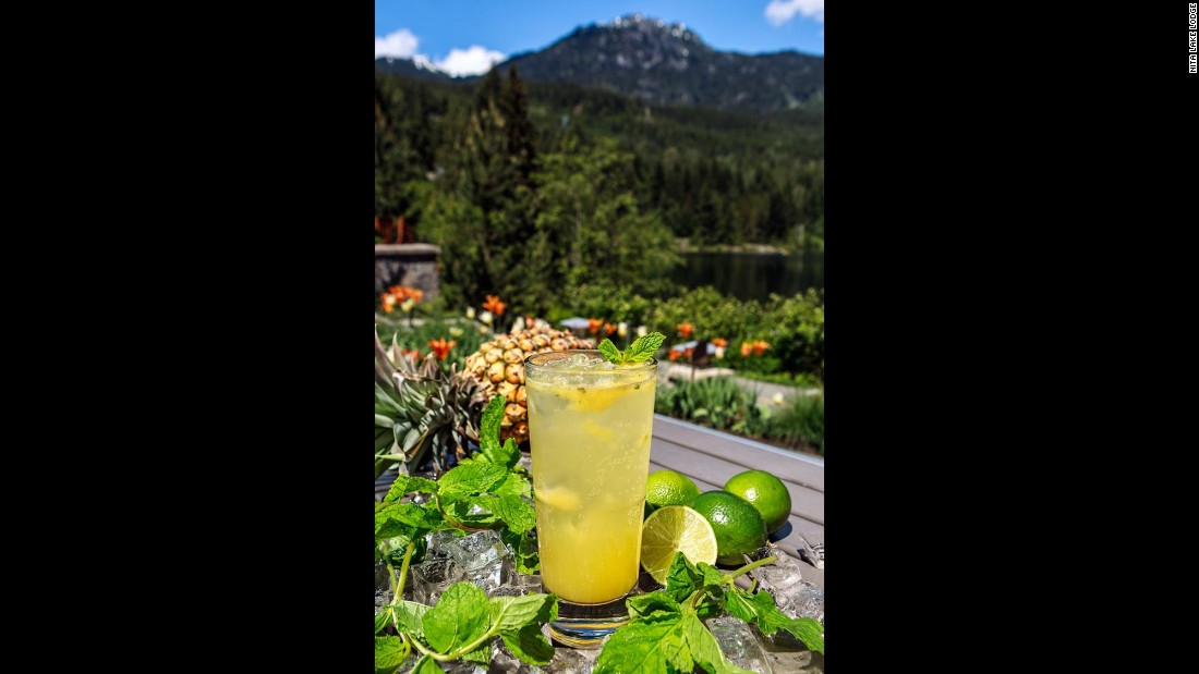 <strong>Nita Lake Lodge, Whistler, Canada</strong>. While the lodge's seasonal rooftop garden supplies produce and herbs for the warmer months, the hotel's culinary team still inspires guests' palates during Whistler's famed skiing season.