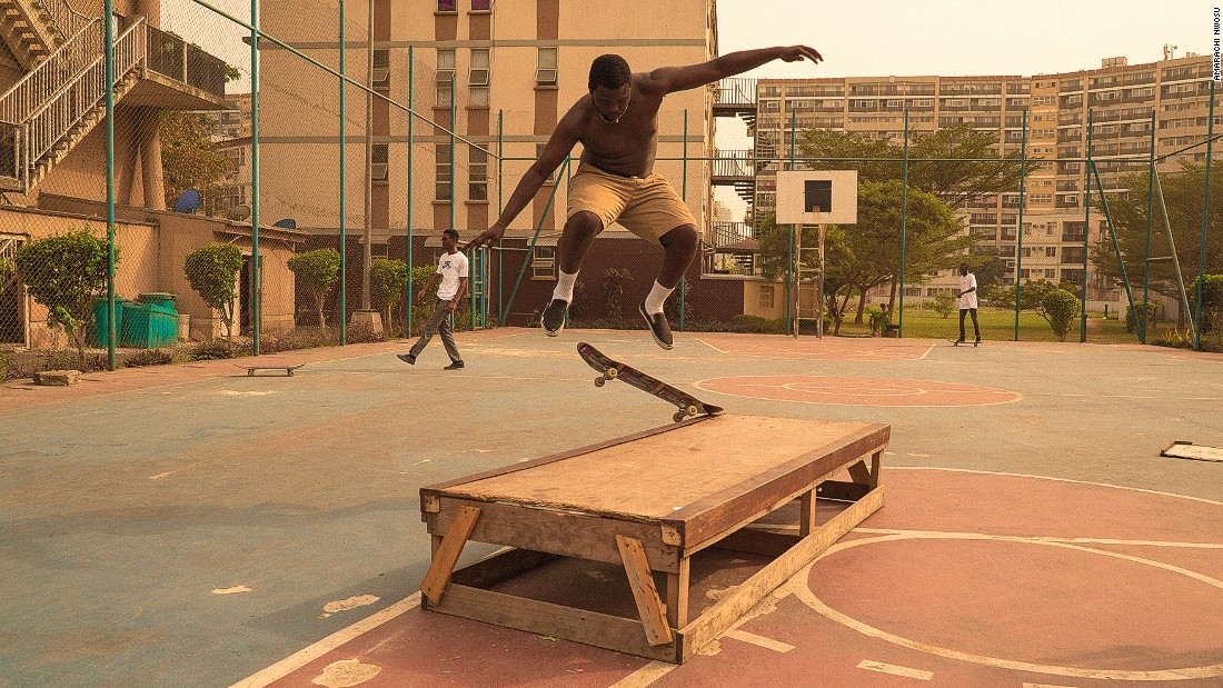Eight years later the team have opened their first skate store in Lagos and hope to increase interest in skate culture through mediums like film, photography and illustration. <br /><br />Photo: Amarachi Nwosu