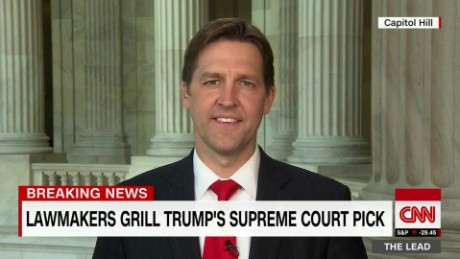 senator ben sasse gop gorsuch trump public trust the lead jake tapper interview_00002205.jpg