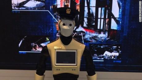 robot police in Dubai