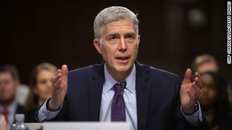 Democrats vote to filibuster Gorsuch in first act of nuclear showdown