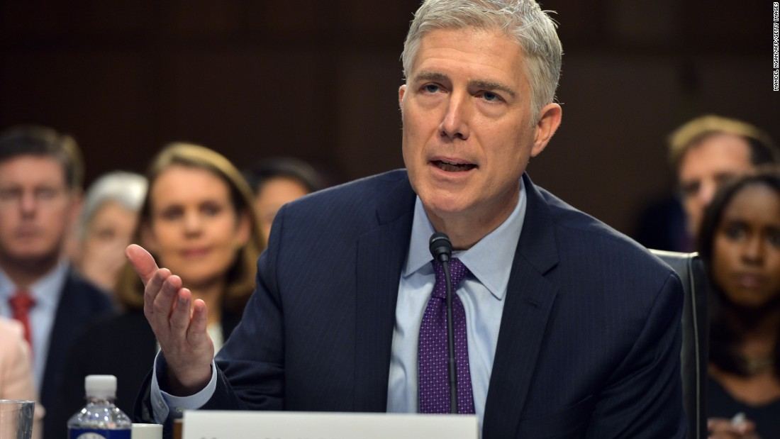 Neil Gorsuch Senate battle; filibuster, nuclear option loom