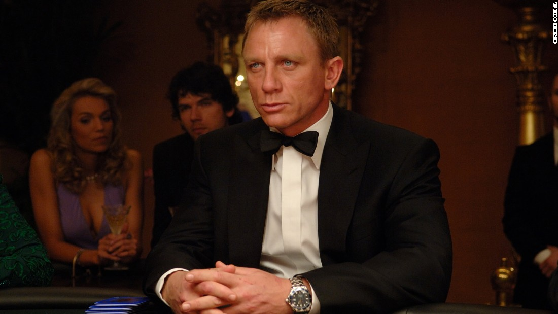 Omega has been the choice for every on-screen James Bond since 1995, following Rolex, Seiko and TAG Heuer.