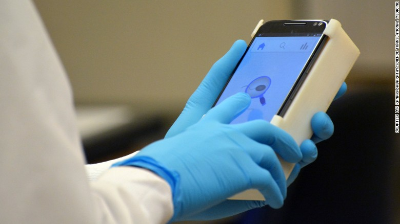 Testing fertility with a smartphone app