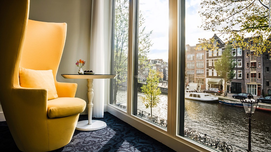 12 of the best canal hotels in amsterdam. Black Bedroom Furniture Sets. Home Design Ideas