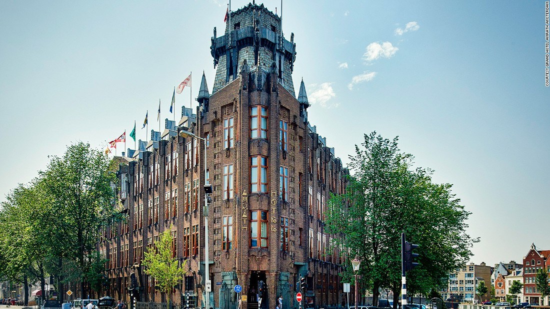 <strong>Grand Hotel Amrâth Amsterdam: </strong>Amrath Amsterdam is housed in the historic Scheepvaarthuis (Shippinghouse), which was the head office of several shipping companies in the early 20th century.