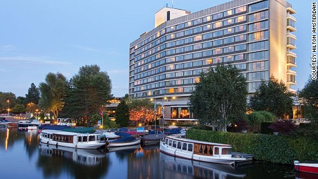Hilton Amsterdam throws one of the best herring parties in the country.