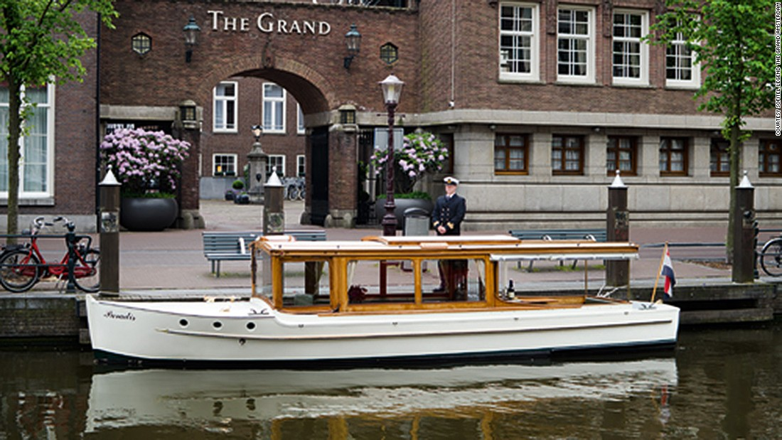 <strong>Sofitel Legend The Grand Amsterdam: </strong>Once a convent, a royal lodging and a city hall, this historic structure now houses the 177-room Sofitel Legend The Grand Amsterdam.