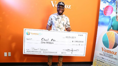 Nigerian Instagram comedian, Chief Obi has landed a million dollar deal as the brand ambassador for Vomoz.