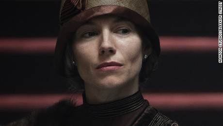 "Sienna Miller as Nina Fawcett in ""The Lost City of Z."""