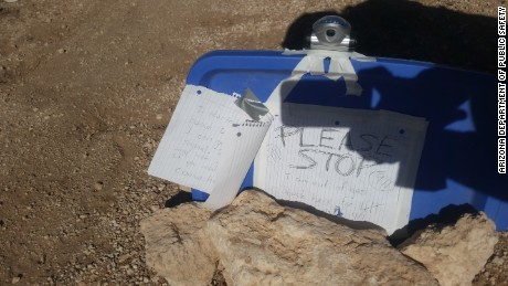 Amber VanHecke, 24, left a note that authorities used to find her in the Arizona wilderness.
