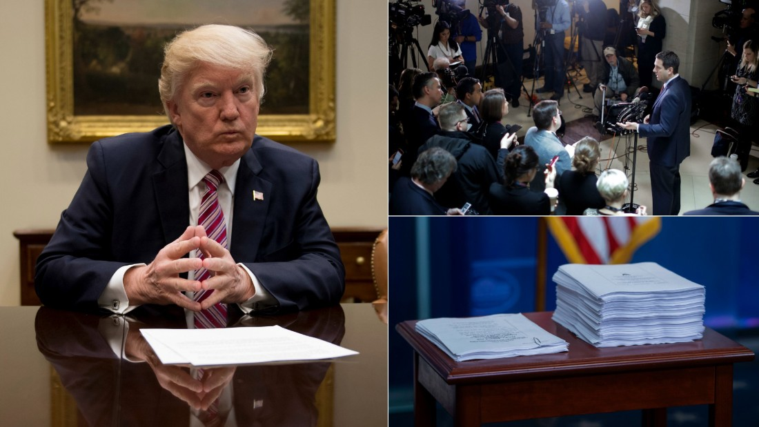 cnn.com - Daniella Diaz - Live: Decision day for health care, Trump and Russia