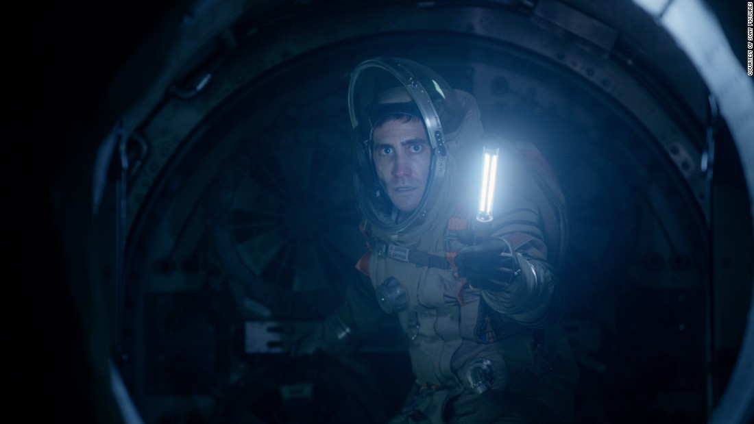 'Life' Unleashes Alien In Scary Confines Of Space