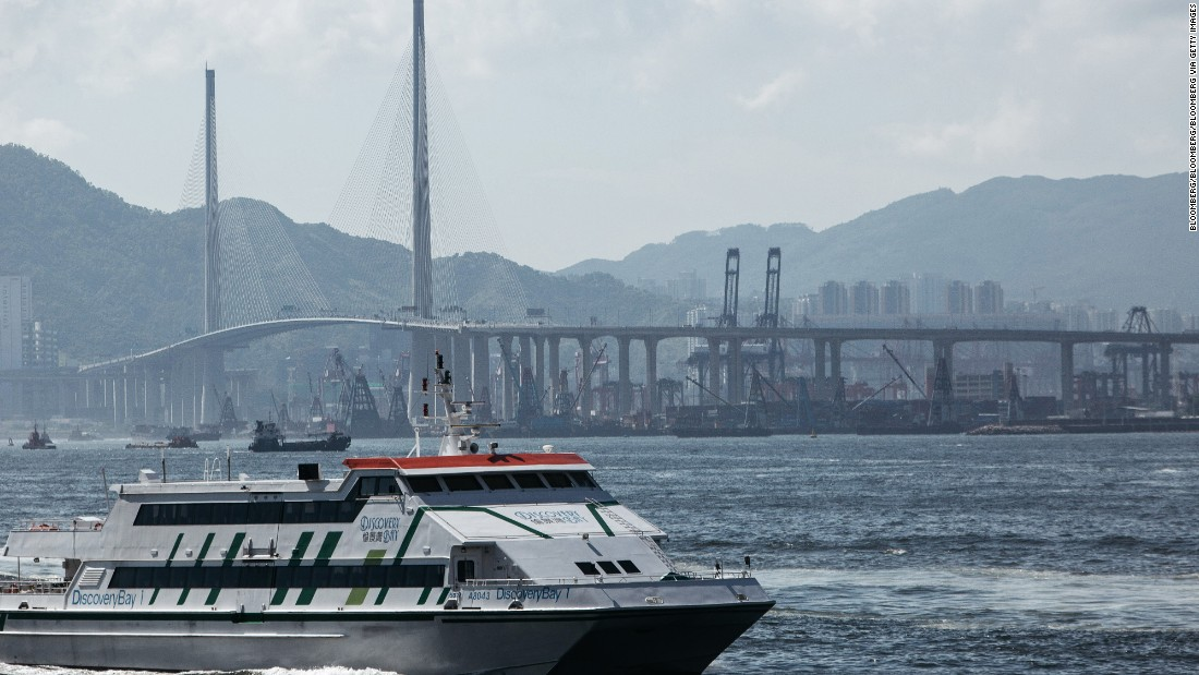 Though located on an outlying island, DB is connected to the heart of Hong Kong via ferries that run up to every 15 minutes during rush hour, as well as a series of bridges.