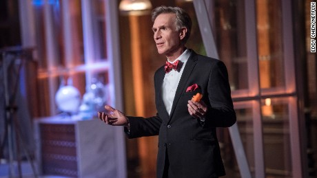 "Bill Nye on his new Netflix show, ""Bill Nye Saves the World."""