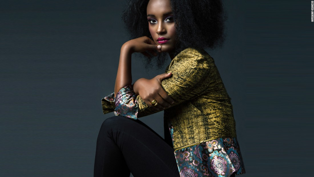 """We are trying to make fashion made in Africa available to everybody,"" says Chekwas Okafor, founder of ONYCHEK. The 27-year-old left a job as a health and safety manager to launch the online retail store. <br /><br />Pictured: Designs by Ghana's Christie Brown and Kenya-based Adele Dejak."