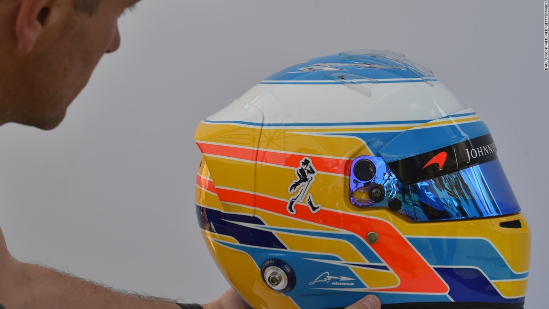 "There's a tropical feel to <a href=""http://www.cnn.com/2017/02/24/motorsport/alonso-mclaren-mcl32-f1-2017-season/index.html"">Alonso's</a> sun, sea, and sand-colored headgear. However, it's been anything but paradise for the double world champion since his move to McLaren where he's endured some of the worst seasons of his career."