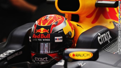 MONTMELO, SPAIN - MARCH 10:  Max Verstappen of Netherlands and Red Bull Racing sits in his car in the garage during the final day of Formula One winter testing at Circuit de Catalunya on March 10, 2017 in Montmelo, Spain.  (Photo by Mark Thompson/Getty Images)