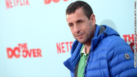 LOS ANGELES, CA - MAY 16:  Comedian Adam Sandler attends the premiere of Netflix's 'The Do Over' at Regal LA Live Stadium 14 on May 16, 2016 in Los Angeles, California.  (Photo by Jason Kempin/Getty Images)