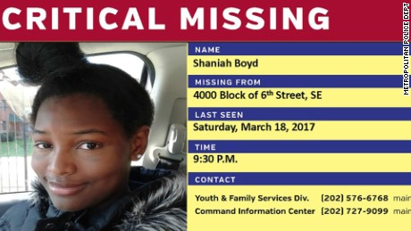 shaniah boyd missing graphic