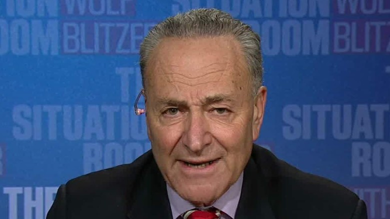 Schumer: Trump to blame for failed bill