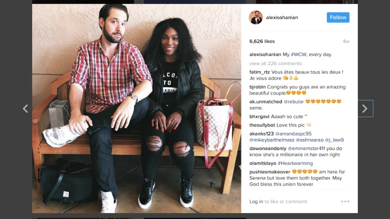 Alexis Ohanian: Serena Williams humbles me