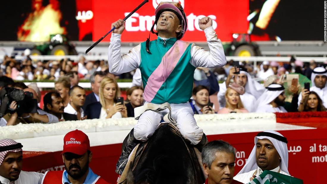 Dubai World Cup: Arrogate wins $10 million classic