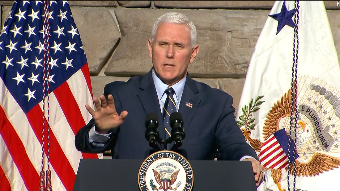 Pence: 'Congress wasn't ready' to repeal Obamacare